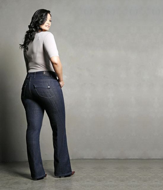 Photo courtesy of Budget Fashionista.com, Boot Cut Jeans