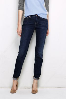 Photo courtesy of Lands End.com, Straight Cut Jeans