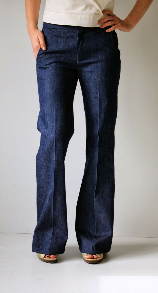 Photo courtesy of Running With Scissors.com, Trouser Style Jeans
