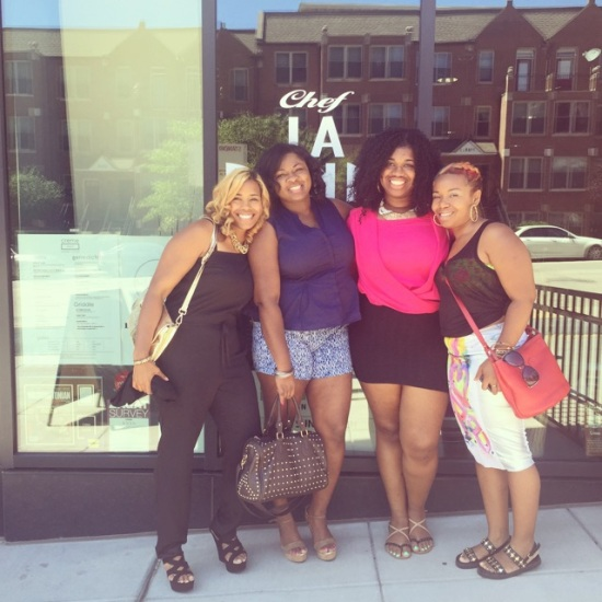 Beauties who brunch @Creme14